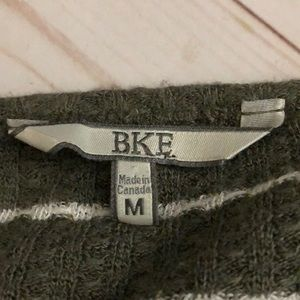 BKE Tops - {BKE} Distressed Waffle Knit Thermal